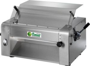 SI420T Pizza and pasta Electric rolling machine pair of rollers 420 mm - Three Phase