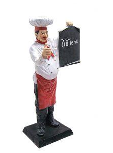 ER004 Cuoco tridimensionale alto 140 cm
