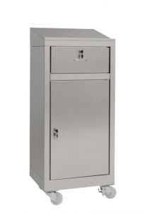 IN-699.03C Cabinet cabinet with trolley in steel - dim. 50x40x115 H