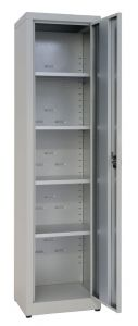 IN-Z.694.03.50 1-Piece Storage Cabinet Plasticized xinch door - 45x50x200 H