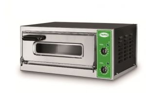 B7T - Pizza oven INOX 1 PIZZA 50 cm three-phase