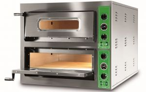 B9 + 9M - Pizza ovens INOX 12 PIZZA 36 cm Single-phase B9 + 9