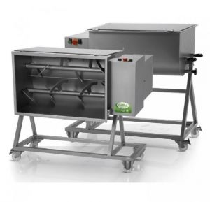 FIC 100B - 100 KG two-phase kneading machine complete with trolley