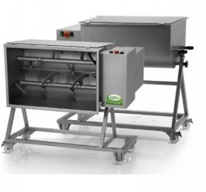 FIC 50B - 100 kg bipal kneading machine complete with trolley