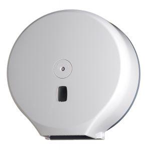 T104005 Distributore carta igienica in ABS bianco 400 metri