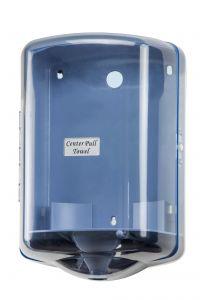 T104024 Distributore di carta in bobina srotolamento centrale ABS blu