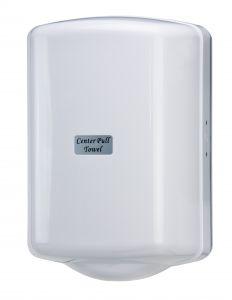 T104025 Center Pull Dispenser white ABS