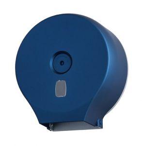 T104301 Distributore di carta igienica in rotolo ABS blu soft-touch 200 metri