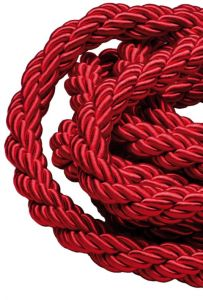 T106341 Custom-cut rope red bordeaux 1 meter