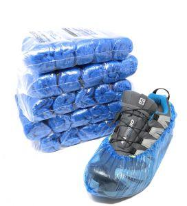 T110050 Copriscarpe standard PE 500 pezzi per dispenser T110006-T110001 (confezione da 5 pezzi totale 500 calzari )