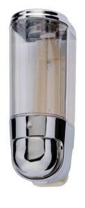 T110551 Mini distributore di sapone liquido cromato 0,3 litri