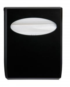 T130014 Toilet seat cover dispenser black ABS