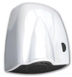 T704125 Asciugamani elettrico a pulsante ABS bianco