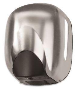 T704362 Asciugamani fotocellula alte prestazioni Alluminio satinato CONO senza resistenza
