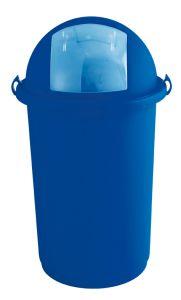 T710007 Push bin plastic blue 50 liters