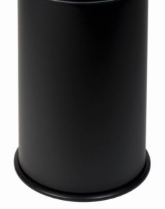 T770501Bucket for fireproof wastebin Black 50 liters WITHOUT COVER