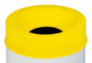 T770566 Fireproof lid Yellow for bucket 50 liters ONLY COVER