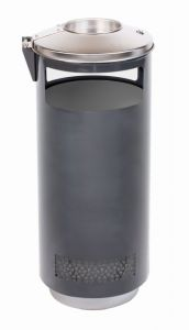 T776002 Ash bin for outdoor space 70 liters