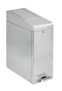 T789080 Contenitore di sacchetti igienici acciaio inox AISI 304 satinato