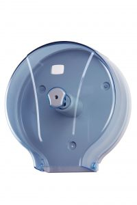 T908102 400 meters toilet paper roll dispenser blue ABS