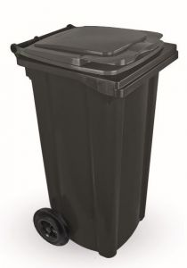 T910120 Waste container 2 wheels 120 liters GRAY without lid