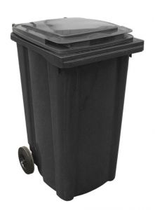 T910240 Waste container 2 wheels 240 liters GRAY without lid