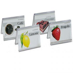 IGP370 Targhette segnagusti in plexiglass pezzi 10