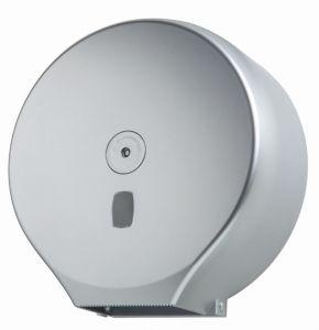 T104405 Distributore di carta igienica in rotolo ABS argento 400 metri