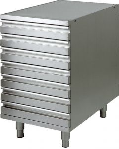 CAS7FC Aisi201 chest of drawers for  pizza dough containers