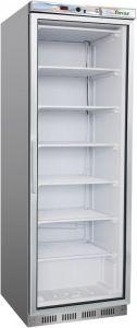 G- EF400GSS Armadio congelatore statico porta a vetro, capacità 350lt