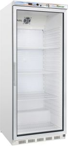 G- ER600G -  ECO static refrigerated cabinet with glass door - Capacity 570 Lt