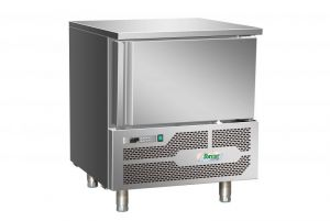 G-AB1203 Freezing Temperature Blast Chiller 3 Trays in stainless steel Aisi 304