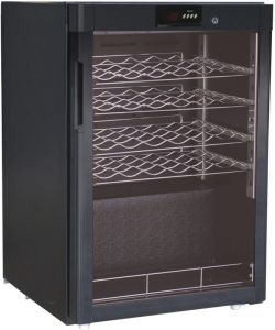 G-BJ118 Wine cabinet static refrigerated temp + 5 ° / + 18 ° C capacity 24 bottles