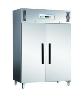 G-ECV1200TN Professional ventilated stainless steel refrigerator cabinet AISI430
