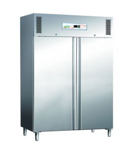 G-GN1200BT Refrigerated cabinet, double door, negative temperature 1104 Lt