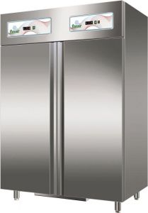 G-GN1200DT Refrigerated double door cabinet, double temperature 552 + 552 Lt
