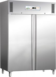 G-GN1200TN Refrigerated double door cabinet, positive temperature 1104 Lt