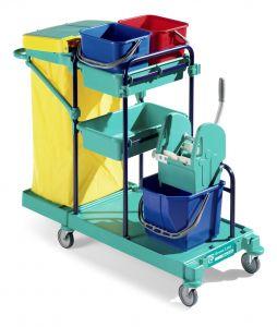 0B003140 Carrello Green 140 - Montanti Blu