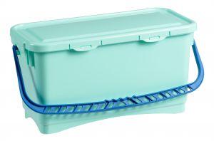 0B003215X Secchio hermetic Bcs 20 L - Verde con manico blu