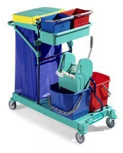 0B003400 Carrello Green 400 - Montanti Blu