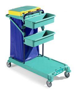 0B003470 Carrello Green 470 - Montanti Blu