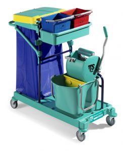 0B063410 Carrello Green 410 - Montanti Blu