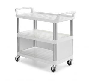 0F0C3700W Carrello Shelf C3700 - Bianco - Ruote Ø 100 mm