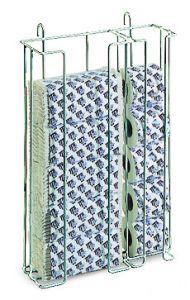 H670800 Porta Ricariche Carta Toilette - Bianco